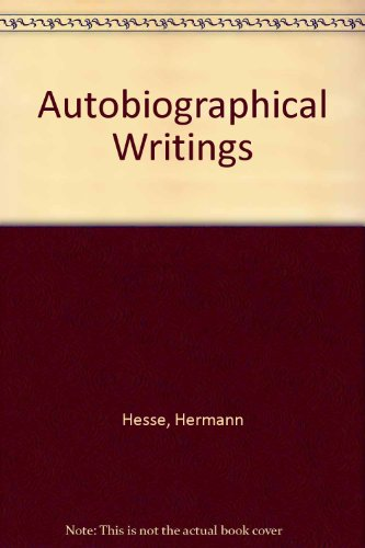 9780586062166: Autobiographical Writings