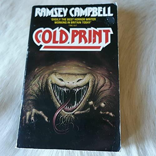 9780586063644: Cold Print