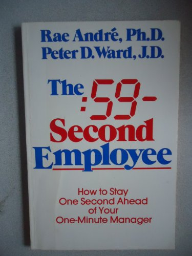 9780586063750: The 59-second Employee: How to Stay One Second Ahead of Your One-minute Manager (Panther Books)