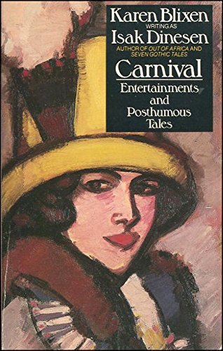9780586070031: Carnival: Entertainments and Posthumous Tales