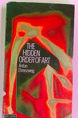 9780586080221: The Hidden Order of Art