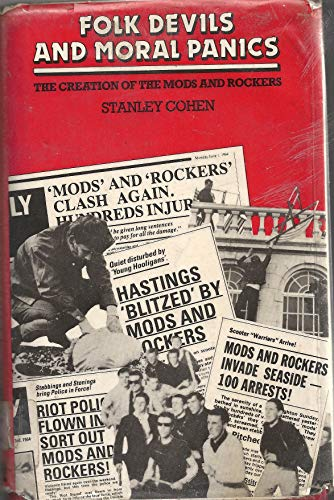 9780586081075: Folk Devils and Moral Panics: Creation of Mods and Rockers