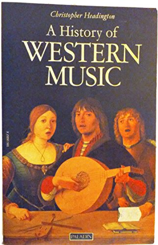 9780586083574: History of Western Music