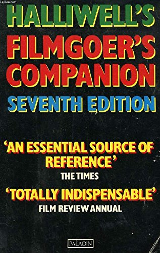 Halliwell's Filmgoer's Companion (Paladin Books) (0586083995) by Leslie Halliwell