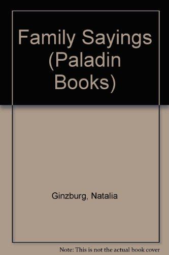 9780586085738: Family Sayings (Paladin Books)