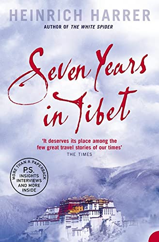 a review of the seven years in tibet by heinrich harrer Review date june 11th, 2007 by high-def digest staff  'seven years in tibet'  tells the true story of heinrich harrer (brad pitt) and peter aufschnaiter (david.