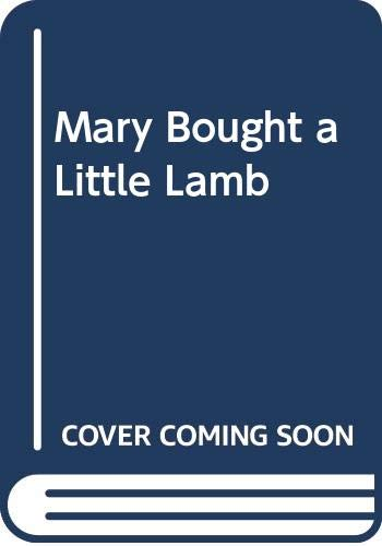 9780589002299: Mary Bought a Little Lamb and this is how she cooked it.
