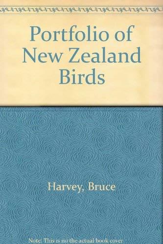 Portfolio of New Zealand Birds: Harvey, B.