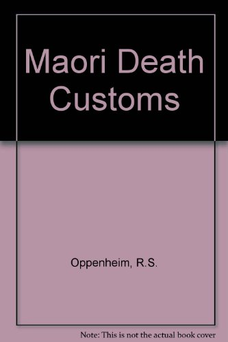 Maori Death Customs