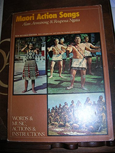 9780589007775: Maori Action Songs: Words and Music, Actions and Instructions
