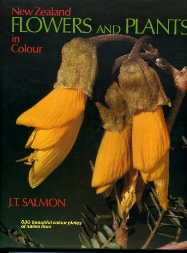 New Zealand Flowers and Plants in Colour New Zealand Flowers and Plants in Colour, J. T. Salmon, New, 9780589010959