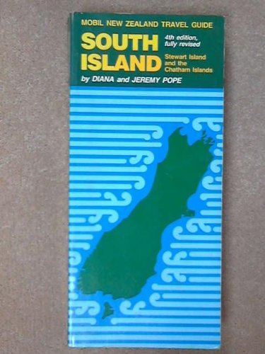 Mobil New Zealand travel guide North island: Pope,Diana & Jeremy.