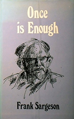 9780589049263: Once is enough;: A memoir [Unknown Binding] by Sargeson, Frank