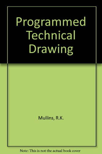 9780589091361: Programmed Technical Drawing