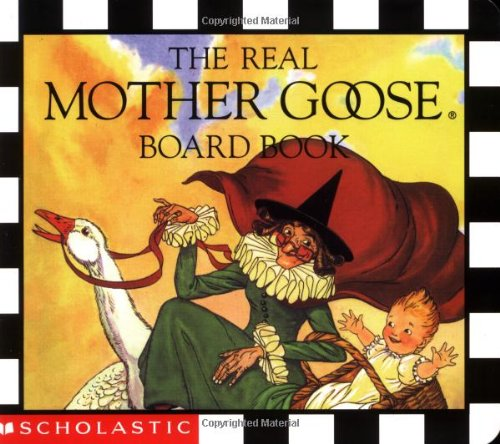 9780590003681: The Real Mother Goose Board Book