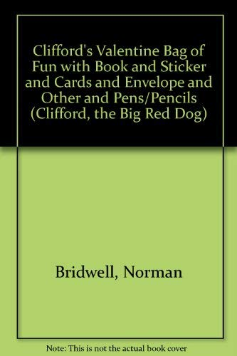 Clifford's Valentine Bag of Fun with Book and Sticker and Cards and Envelope and Other and ...