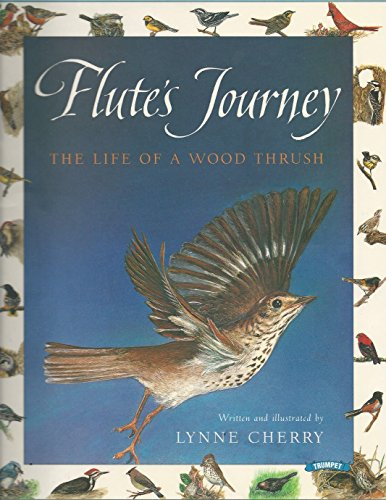 9780590004237: Flutes Journey the Life of a Wood Thrush