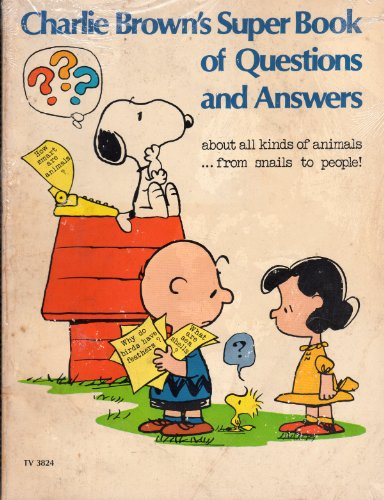 9780590013543: charlie brown's super book of questions and answers