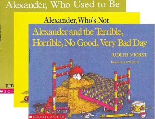 Alexander 3-Book Set: Alexander and the Terrible, Horrible, No Good, Very Bad Day; Alexander Who's N
