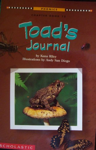 9780590030397: Toad's journal (Phonics chapter book)