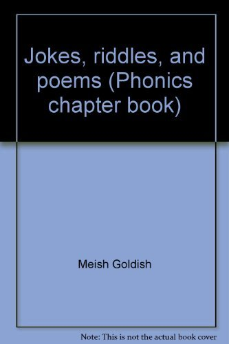 9780590030663: Jokes, riddles, and poems (Phonics chapter book)