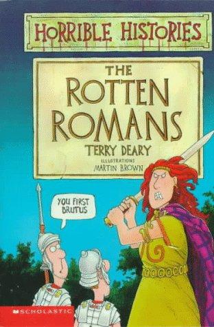 9780590031523: The Rotten Romans (Horrible Histories)