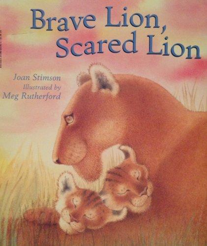9780590031950: Brave Lion, Scared Lion