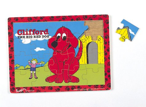 9780590034401: Clifford Wooden Puzzle: Dog House