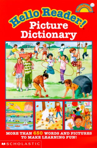 9780590035477: Hello Reader! Picture Dictionary (level 2)