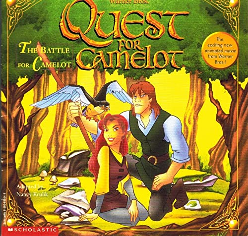 9780590035545: Quest for Camelot; the Battle for Camelot