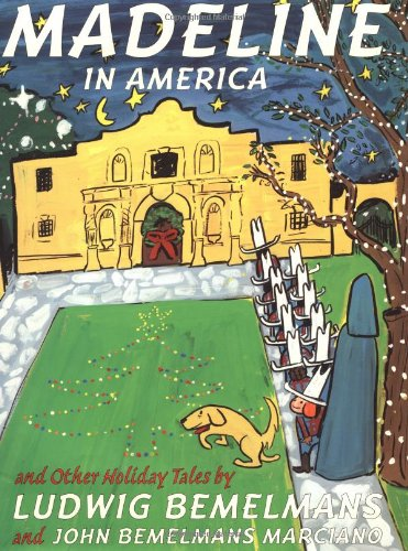 9780590039109: Madeline in America: And Other Holiday Tales