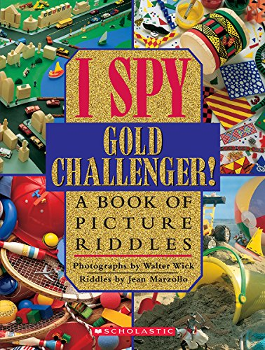 9780590042963: I Spy Gold Challenger: A Book of Picture Riddles