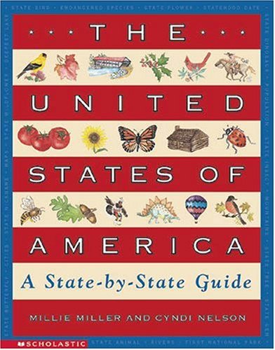9780590043748: The United States of America: A State-By-State Guide