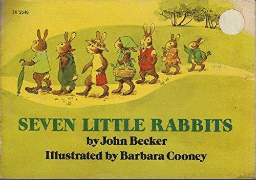 9780590044295: Seven Little Rabbits
