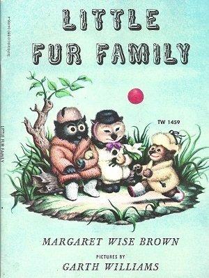 9780590044660: Little Fur Family (TW1459)