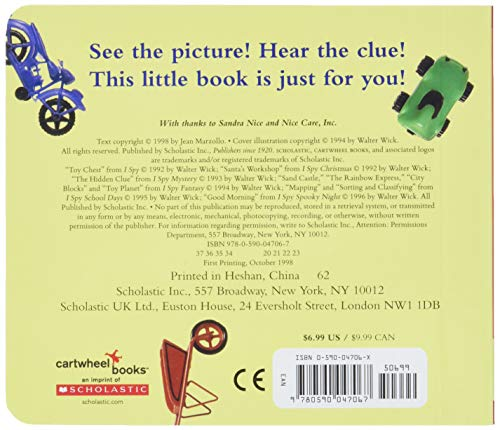 9780590047067: I Spy Little Wheels