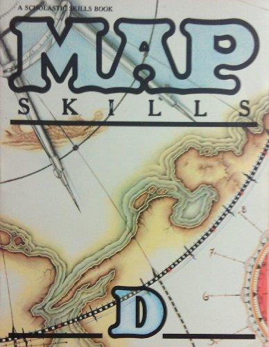 9780590055048: Map Skills D A Scholastic Skills Book