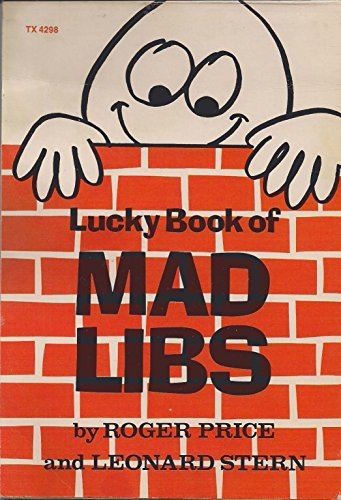 9780590057943: Lucky Book of Mad Libs