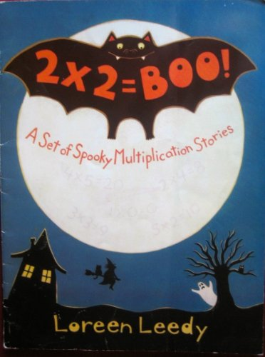 9780590058865: 2 x 2 = boo!: A set of spooky multiplication stories