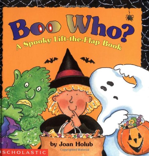 9780590059053: Boo Who? a Spooky Lift-The-Flap Book