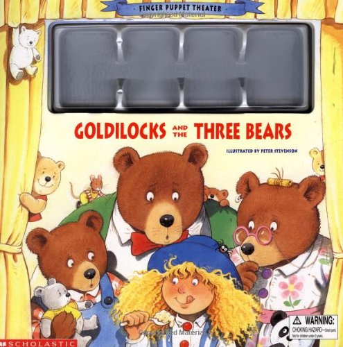 9780590059619: Goldilocks and the Three Bears (Finger Puppet Theater)