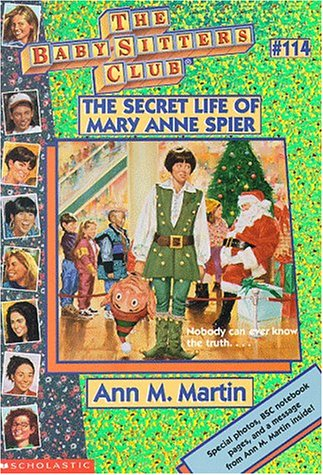 9780590059923: The Secret Life of Mary Anne Spier (The Baby-Sitters Club, No. 114)