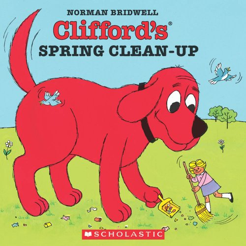 9780590060127: Clifford's Spring Clean-Up (Clifford the Big Red Dog)