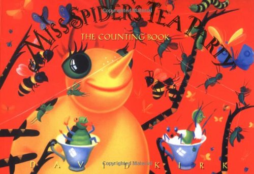 9780590065191: Miss Spider's Tea Party: The Counting Book