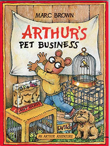 9780590067706: ARTHUR'S PET BUSINESS