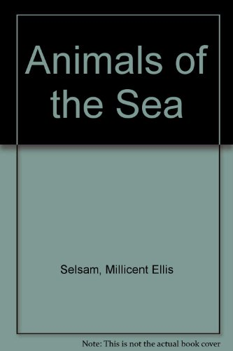 9780590074582: Animals of the Sea