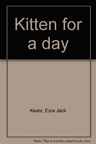 9780590078139: Kitten for a day