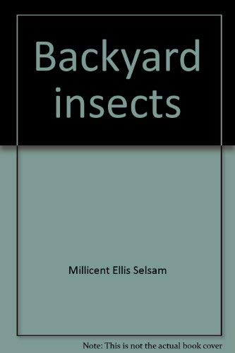 9780590078757: Backyard insects