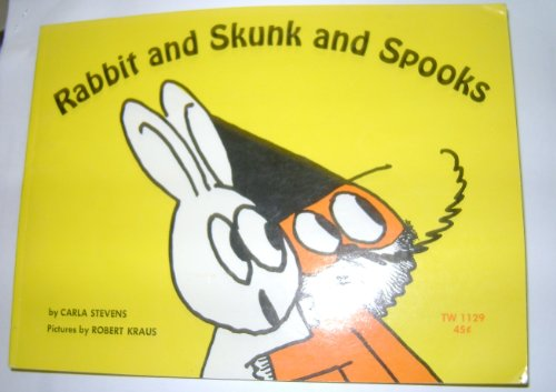 Rabbit and Skunk and Spooks (0590080873) by Carla Stevens