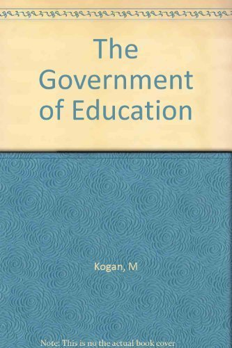 9780590095075: The Government of Education